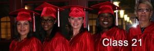 CWJC Class 21 Graduates