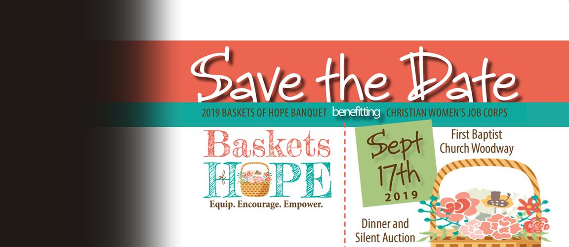 2019 Baskets of Hope Annual Fundraiser - September 17, 2019