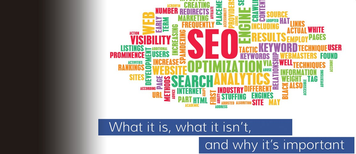 Search Engine Optimization - Learn what it is, what is isn't and why it's important